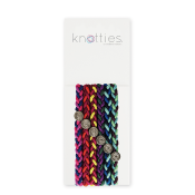 Knotties Braided Elastics Banana Sundae 6-p