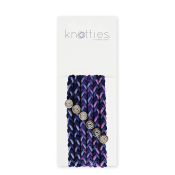 Knotties Braided Elastics Blackberry Jam 6-p