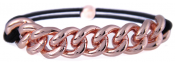 CC. Chained Elastic - Rose Gold-Armband/Hårsnodd