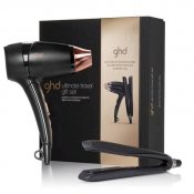 Ghd Platinum Styler samt Travel Set hårfön