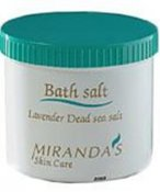 Miranda's Skin Care Bathsalt with lavendel 500 g