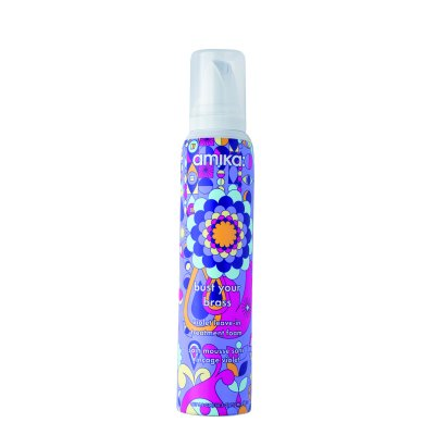 Amika Bust Your Brass Violet Leave-In Treatment Foam 156 ml