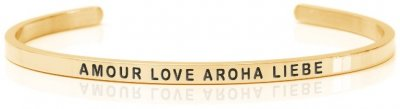 Amour Love Aroha Liebe gold (Siri Collection)