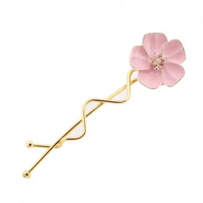 Flora Hairpin Rose