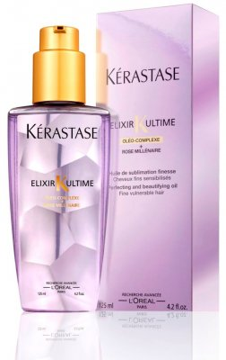 Kerastase Elixir Ultime Thin sensitized Hair Millenium Rose - För fint, känsligt hår 125 ml