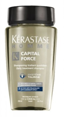 Kerastase Homme Capital Force Bain Anti-Pelliculaire 250 ml