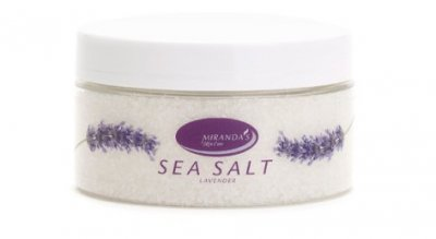 Miranda´s Skin Care Seasalt with Lavender